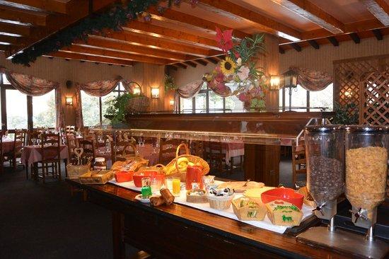 Hotel du Centre : buffet petit déjeuner
