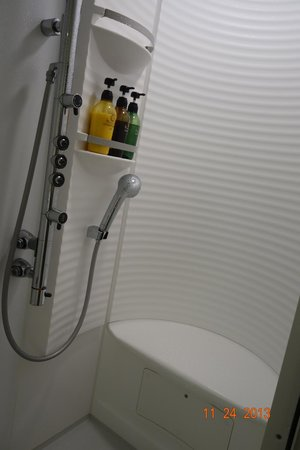 Shinagawa Prince Hotel Tokyo : shower clean and modern