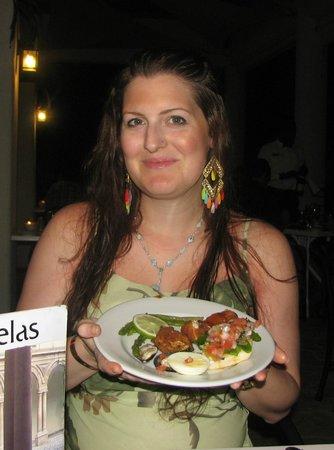 IFA Villas Bavaro Resort & Spa: delicious vegetarian appetizers