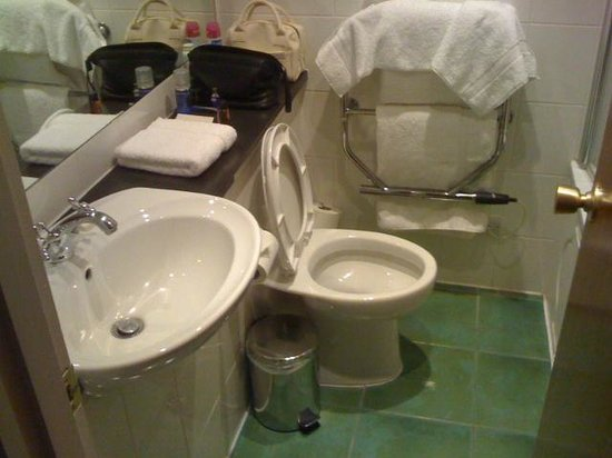 Lismoyne Hotel: The bathroom