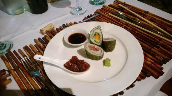 Lalati Resort & Spa : Sushi