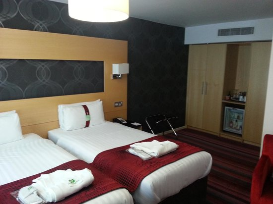 Holiday Inn Darlington A1 Scotch Corner: Our room.
