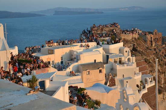 Maria's Place : Oia Tramonto