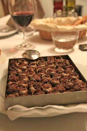 Mas Romeu Restaurante: улитки