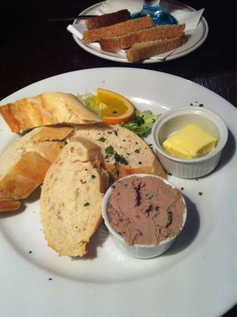 The Barge on the Brayford : Starter of Chefs Pâté