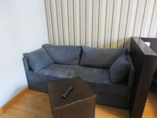 Hall 88 Apartahotel: Sofa