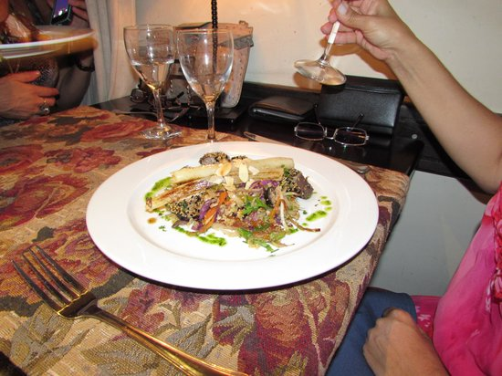 Restaurante Tandory: Beleza do prato