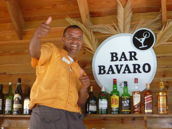 Be Live Collection Punta Cana: Nicholas... Bartender number 1