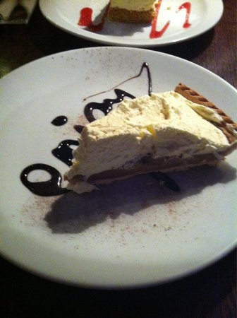 The Barge on the Brayford : Banoffee Pie
