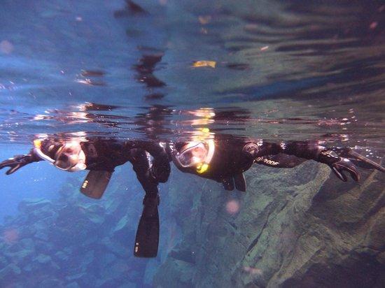 Scuba Iceland: Snorkelling in Silfra - February 2014