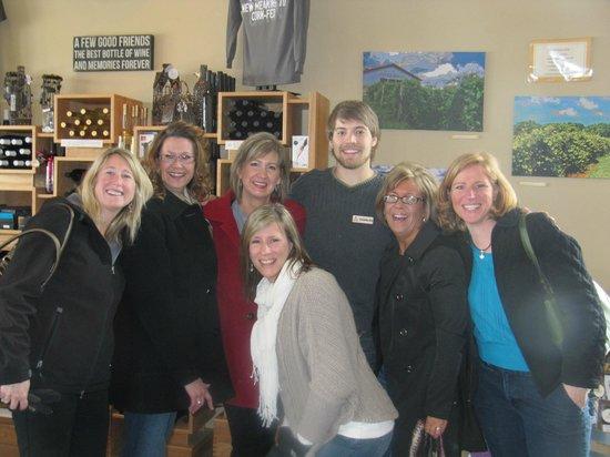 Iowa Wine Tours: Tour at Cedar Ridge