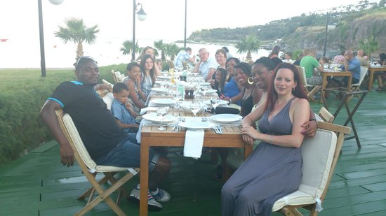 Bodrum Imperial : The outside a la carte restaurant - great food & service!