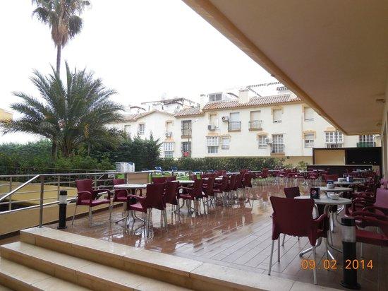 Gran Cervantes by Blue Sea: Terraza Bar/Cafetería