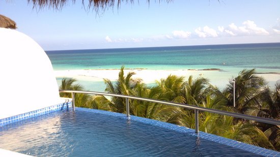 El Dorado Maroma, by Karisma: View from the 4th floor