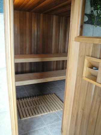 Bay of Islands Beach House : Sauna