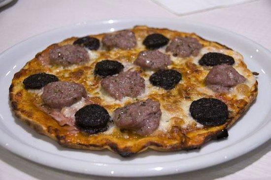 Restaurant Pizzeria Tonetto: Pizza de pages
