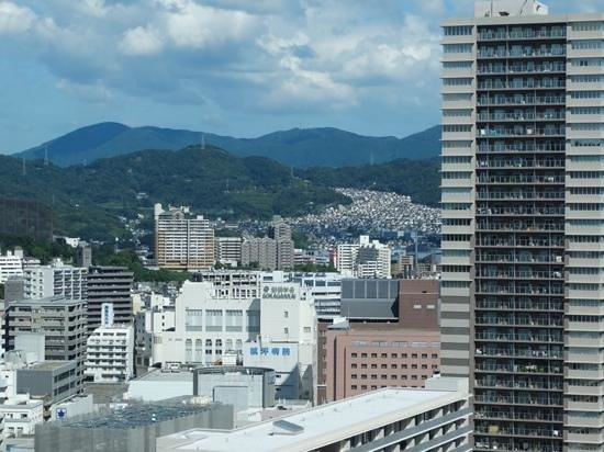 Hotel Granvia Hiroshima: view from hotel window