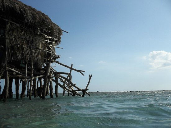 JuJu Tours: Pelican Bar looking out to sea