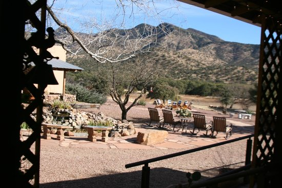 Sunglow Ranch - Arizona Guest Ranch and Resort: View from the Dining Area