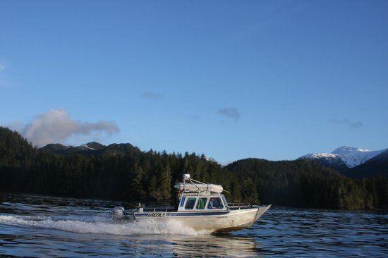 Aquatic Alaska Adventures: Fast, safe and comfortable Sitka, Alaska water taxi and tour service.