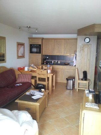 Residence le Telemark : Inside a 1 bedroom apartment