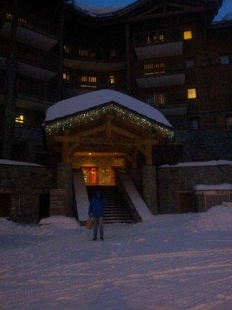 Residence le Telemark : Outside Le telemark