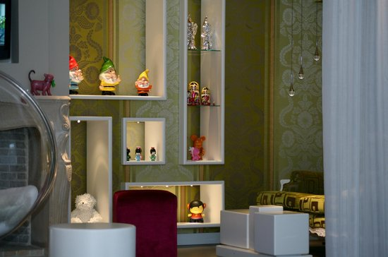 Hotel Le Servotel Castagniers : salon