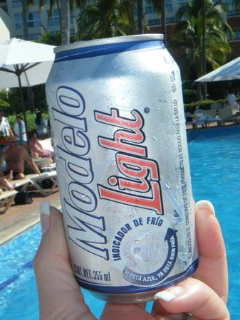 Sheraton Buganvilias Resort & Convention Center: on the last day discovered Modelo Light is like a Coors Light