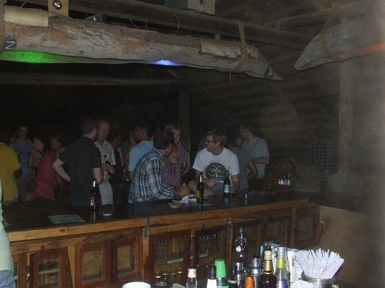 The Watering Hole Cabins: A night at The Watering Hole Bar