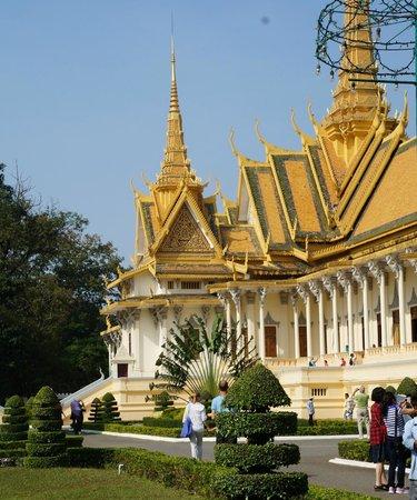Silver Pagoda: Pagode d'argent Phnom Penh,