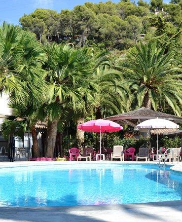 Hotel Le Servotel Castagniers : piscine