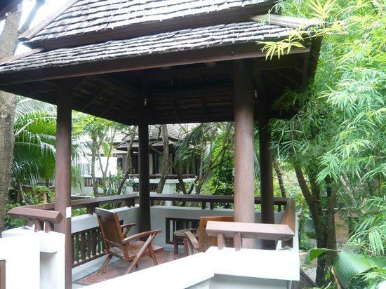 Muang Samui Spa Resort: Terraço do quarto