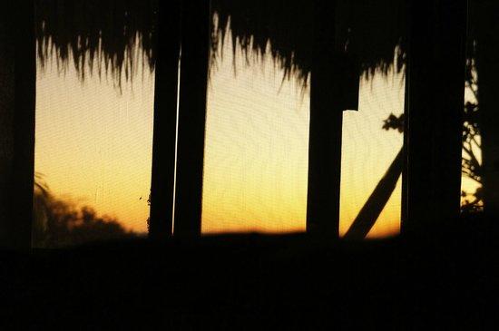 Agua Azul La Villa: Sunrise from room