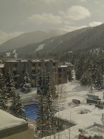 Keystone Lodge & Spa: View of the slopes from the room