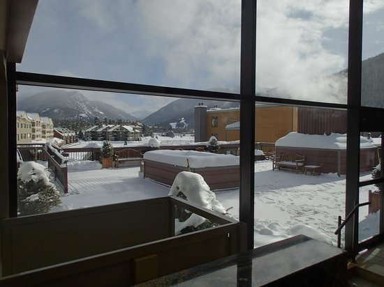 Keystone Lodge & Spa: View from the lobby
