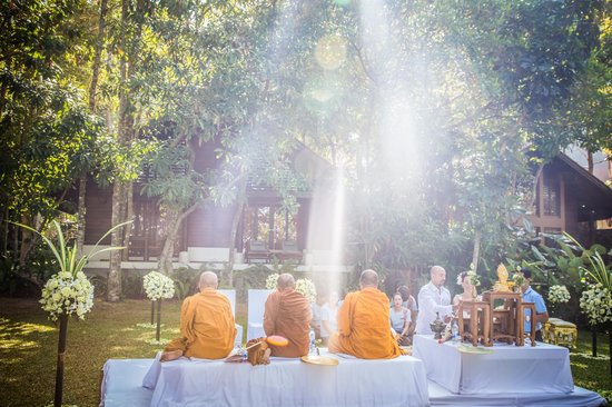 The Tubkaak Krabi Boutique Resort : Buddhist Ceremony