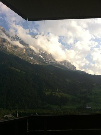 Hotel Spinne: Eiger View :-)