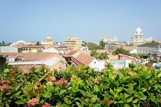 Charleston Cartagena Hotel Santa Teresa: Vista da piscina
