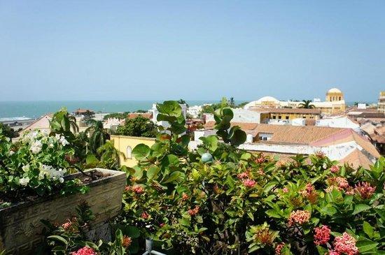 Charleston Cartagena Hotel Santa Teresa : Vista da piscina