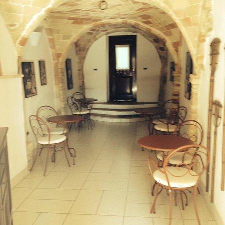 La Casa del Palombaro: Entrata dal parcheggio
