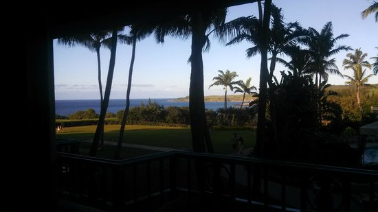 The Ritz-Carlton, Kapalua: View from room.