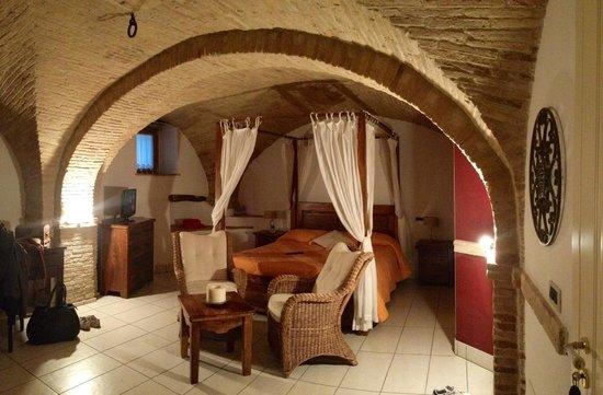 La Casa del Palombaro: La suite
