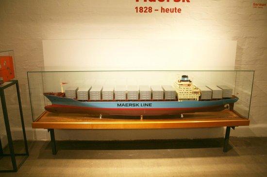Hafenmuseum: Schiffsmodell