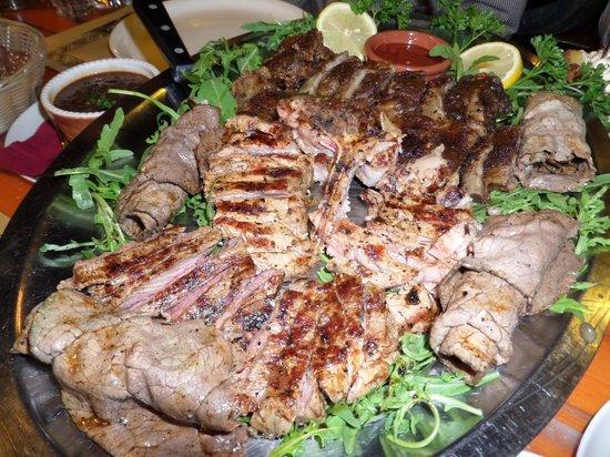 Alla Grotta : steak.... enough said