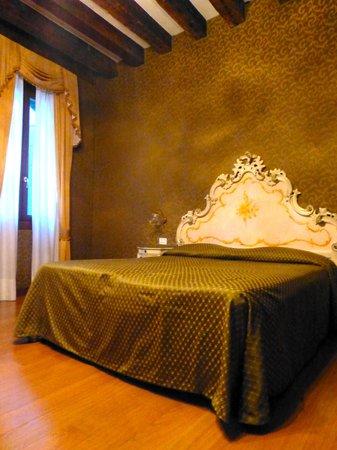 Palazzo Guardi: chambre à coucher