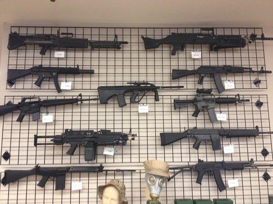 Battlefield Vegas: Some of the range