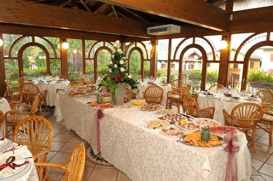 Hotel Elvezia: Veranda