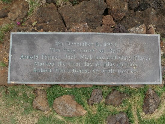 Mauna Kea Resort Golf Course: Opening Day, December 8, 1964, Jack, Arnie and Gary
