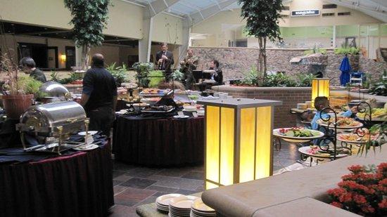 Pheasant Run Resort: Scrumptious food stations
