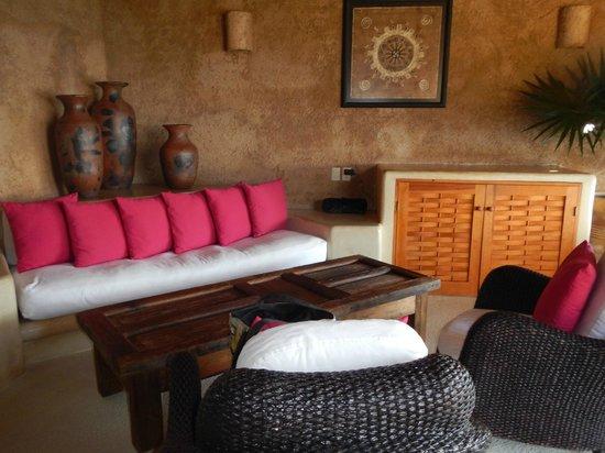 Hotel Cinco Sentidos: Grand Suite Sitting Area